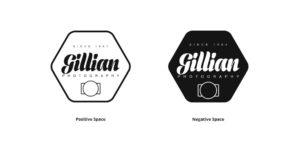 gillian photography logo black and white