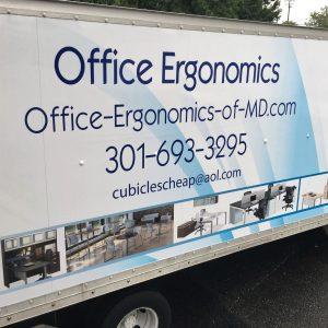 moving truck office ergonomics